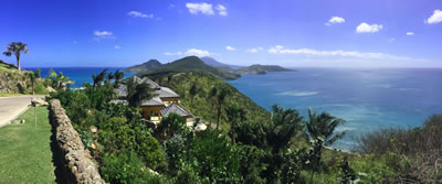 St Kitts, Overlooking Christopher Harbour